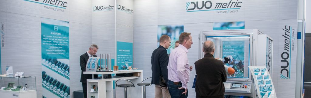 DUOmetric Messe SPS IPC DRIVES 2016